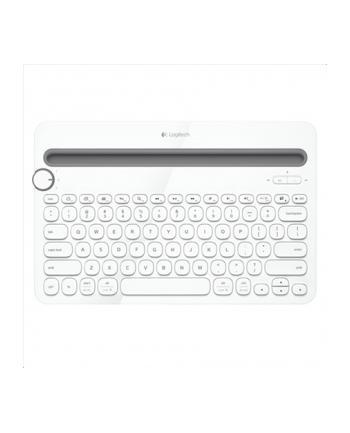 Logitech Multi-Device Keyboard K480 - Biała - US - BT