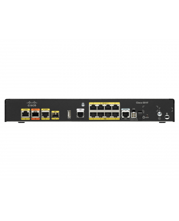 Cisco Systems Cisco 891F Ethernet Router with V.92 & ISDN backup