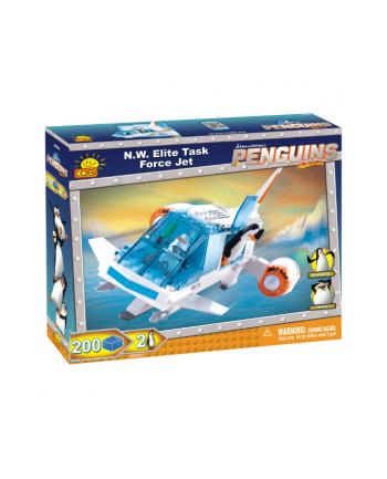 COBI Pingwiny VTOL Jet