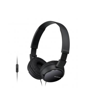 Słuchawki z mikrofonem Sony MDR-ZX110APB (czarne)