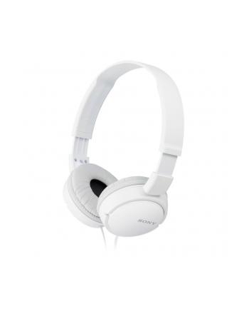 Słuchawki z mikrofonem Sony MDR-ZX110APW (białe)