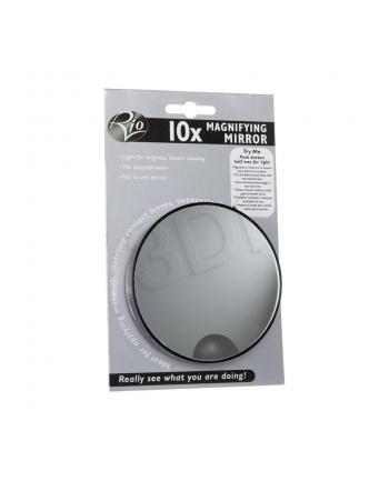 Małe lusterko kosmetyczne RIO MMIR (10x magnifying mirror with light)