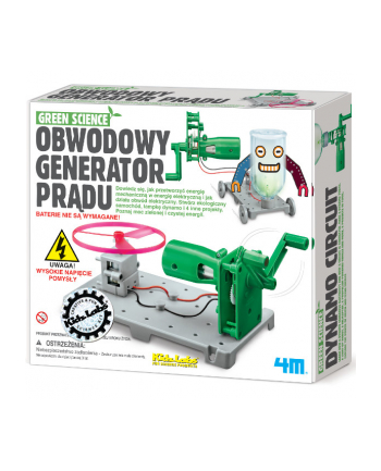 4M Green Science generator prądu