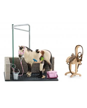 SCHLEICH Myjnia dla konia