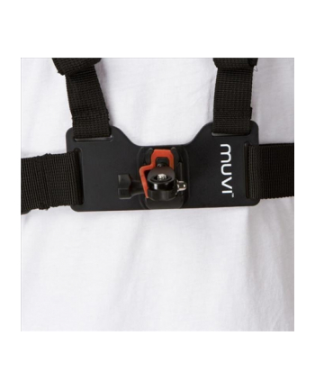 Veho MUVI™ Chest Harness Mount/  Fully adjustable body/chest/ Includes MUVI HD holder & tripod mount/ Fully adjustable viewing angle/ Compatible with MUVI HD Range and MUVI Micro