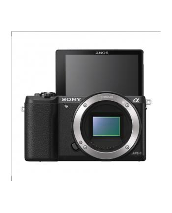 Sony A5100 Body Black 24.3MP Exmor APS-C CMOS sensor, 3.0'' LCD, Zoom 4x, 25 points AF, Wi-Fi