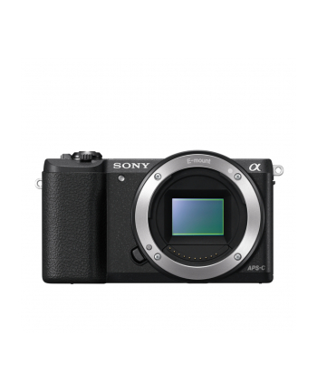 Sony A5100 Body Black 24.3MP Exmor APS-C CMOS sensor, 3.0'' LCD, Zoom 4x, 25 points AF, Wi-Fi