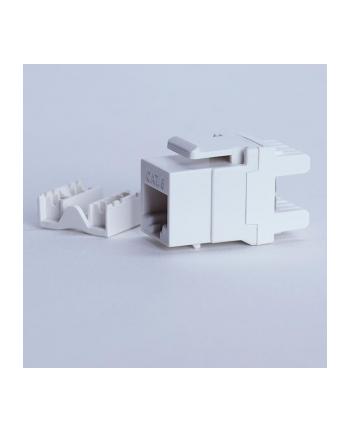 Digitalbox START.LAN moduł Keystone Jack UTP cat. 6 (1xRJ-45) 8P8C 180° biały