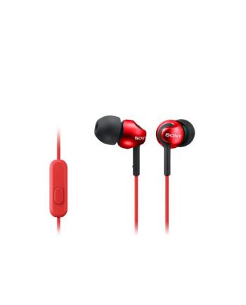 Słuchawki Sony MDR-EX110APR (czerwone)