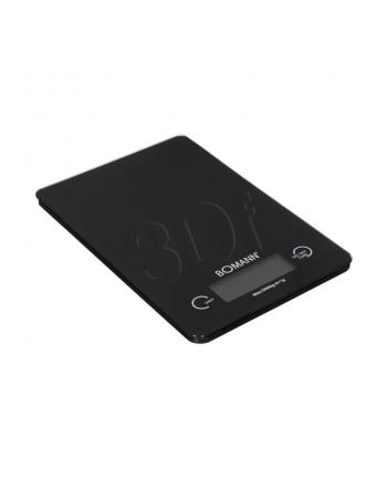Bomann KW 1415 Kitchen Scales, , -> 5 kg, digital, 3 x AAA, White