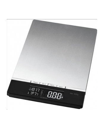 Bomann KW 1421 Kitchen Scales,-> 5 kg, digital, 3 x AAA, Inox