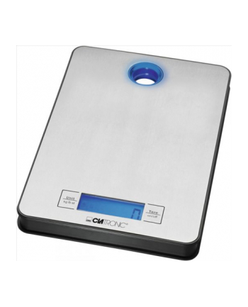 Clatronic KW 3412 Kitchen Scales, up to 5 kg, Inox