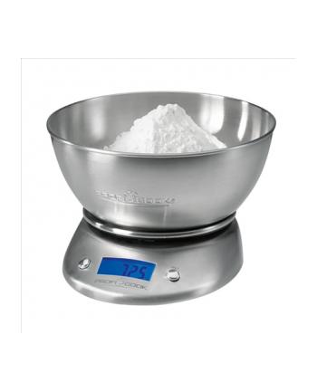 ProfiCook PC-KW 1040 Digital Kitchen Scales, Inox