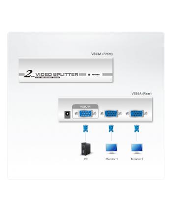 ATEN VS-92A Video Splitter 2 portowy