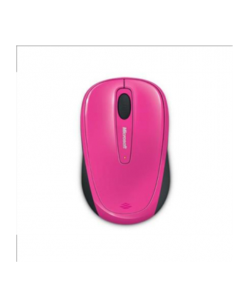 Microsoft Wireless Mobile Mouse 3500 Mac/Win USB Port EN/AR/CS/NL/FR/EL/IT/PT/RU/ES/UK a 1 License Magenta Pink