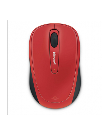 Microsoft Wireless Mobile Mouse 3500 Mac/Win EN/AR/FR/EL/IT/RU/ES a 1 License Flame Red Gloss