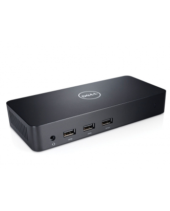 Dell USB 3.0 Ultra HD Triple Video Docking Station D3100 EUR