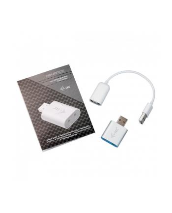 iTec i-tec USB Metal Mini Audio Adapter