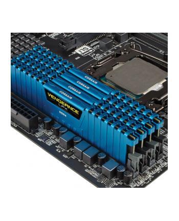 Corsair Vengeance LPX 4x8GB 2666MHz DDR4 CL16 DIMM 1.2V, Unbuffered, Niebieska