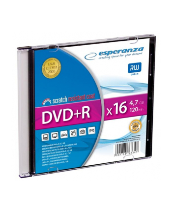 DVD+R ESPERANZA [ slim jewel case 1 | 4.7GB | 16x ]