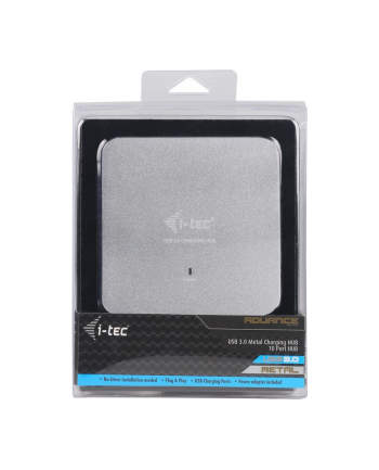 iTec i-tec USB 3.0 Metal Charging HUB 10 Port