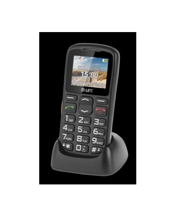 M-LIFE TELEFON KOMÓRKOWY SENIORPHONE KOLOROWY WYŚWIETLACZ + STACJA DOKUJĄCA