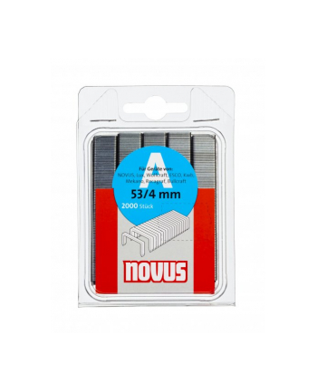 ZSZYWKI TYP A 53/10mm 1000szt. NOVUS