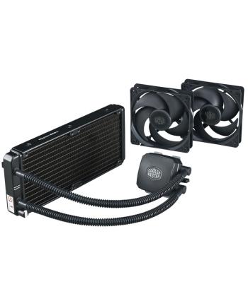 COOLERMASTER chłodzenie wodne Nepton 240M, skt.2011/1366/1155/1150/AM3+/AM3/AM2/FM1/FM2 silent, 2x120mm fan, 15dBA