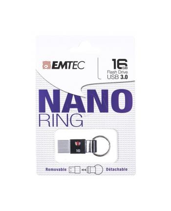 Emtec pamięć 16GB USB3.0 Nano Ring T100 |odczyt:80MB/s, zapis: 10MB/s|