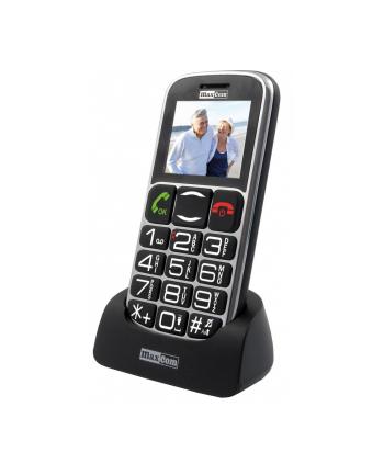 MaxCom MM461BB, Telefon GSM - Czarny