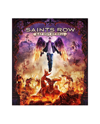 Gra PC Saints Row IV Gat Out of Hell Ed. First