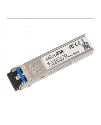 MikroTik S-31DLC20D SFP 1.25G SM 20km 1310nm LC