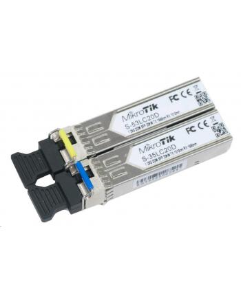 MikroTik S-3553LC20D SFP 1.25G 1310/1550nm 20km WDM