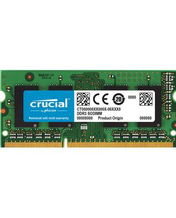 CRUCIAL SODIMM DDR3 8GB 1600MHz CT102464BF160B