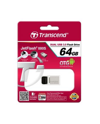 Transcend memory USB Jetflash 880 64GB USB 3.0