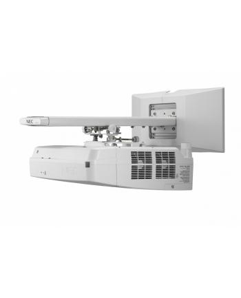 Projektor NEC UM361X (LCD, WXGA, 3600AL incl. Wall-mount) ultra krótkoogniskowy (w magazynie, ostatnie sztuki w promocji)