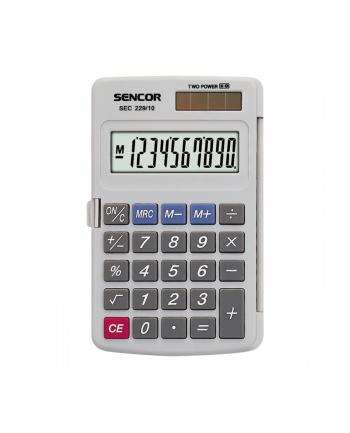 Kalkulator kieszonkowy SEC 229/10