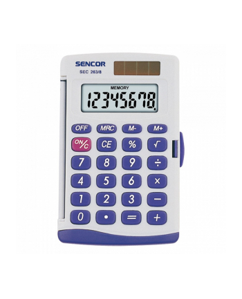 Kalkulator kieszonkowy SEC 263/8