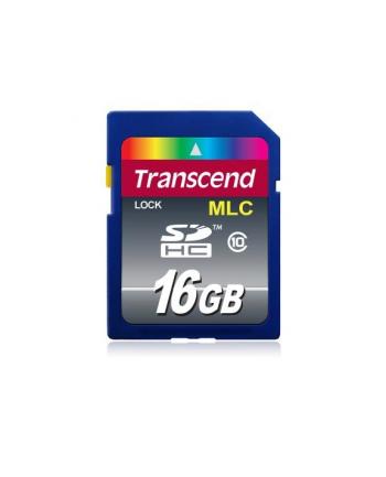 Transcend karta pamięci 16GB SDHC Cl10 , przemsłowa