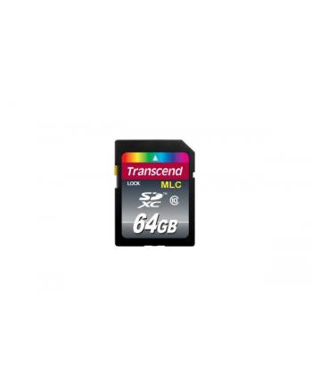 Transcend karta pamięci 64GB SDHC Cl10 , przemsłowa