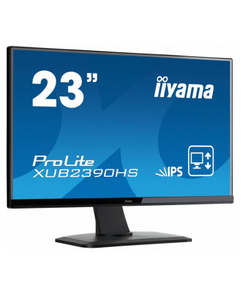 iiyama Monitor 23'' Prolite XUB2390HS-B1, IPS LED, 5ms, Full HD, 5ms, DVI-D, HDMI, HDCP
