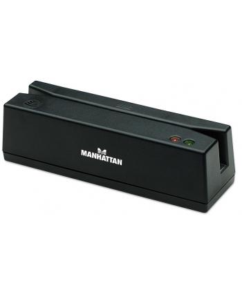 Manhattan Czytnik kart magnetycznych, USB, trzyścieżkowy