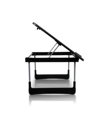 4World Wielofunkcyjne biurko Czarne