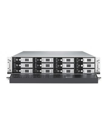 Thecus 12-Bay 2U rackmount WSS NAS, SAS/SATA, 3.1GHz, 8GB DDR3, 3x GbE, RPS