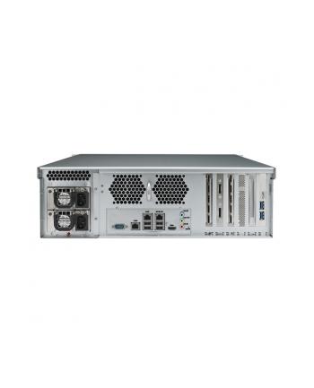 Thecus 16-Bay 2U rackmount WSS NAS, SAS/SATA, 3.1GHz, 8GB DDR3, 3x GbE, RPS