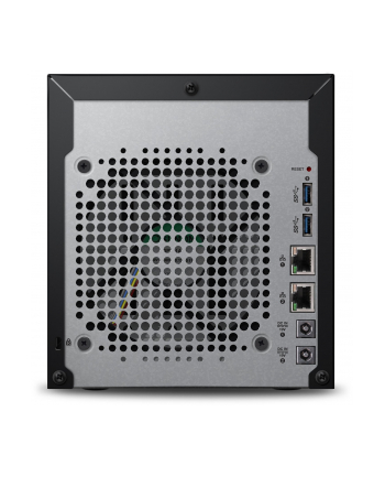 NAS WD My Cloud EX4100, RAID, 24TB, 10/100/1000 Mb/s, czarny