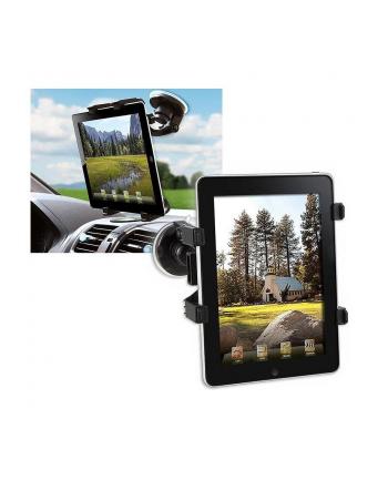 Techly Samochodowy uchwyt na szybę do Tabletu / iPad 7''-10.1'' czarny
