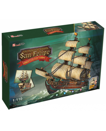 PUZZLE 3D Żaglowiec The Spanish Armada