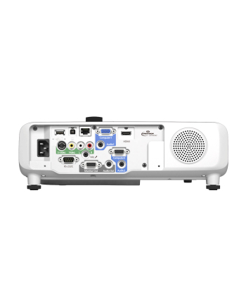 Epson EB-535W 3LCD WXGA/16:10/1280x800/3400Lm/16000:1/Zoom 1.35x/Lamp 5000-10000h/VGAx3,HDMI,USBx2,RS232,Audio in-out/3.9kg/Speaker 16W/White