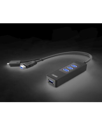 Hub OTG Unitek 4x USB 3.0, Y-3046A